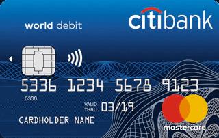 дебетовая карта сити банк