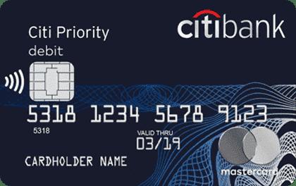 дебетовая карта ситибанк