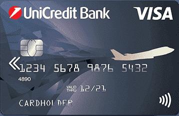 Дебетовая карта ЮниКредит Банк Visa Air